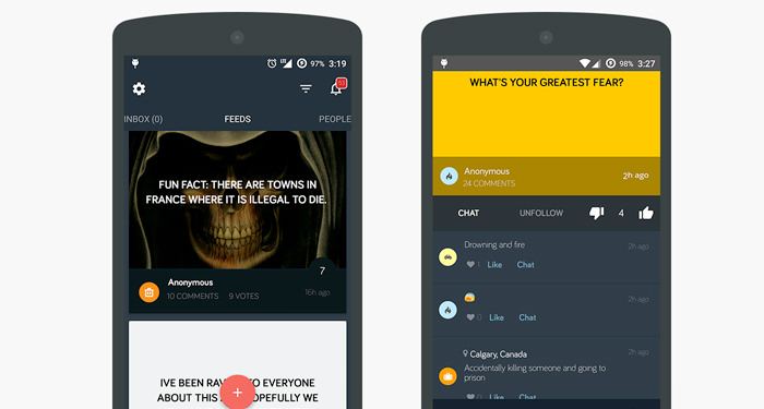 10 Anonymous Messaging Apps for Android and iOS 4