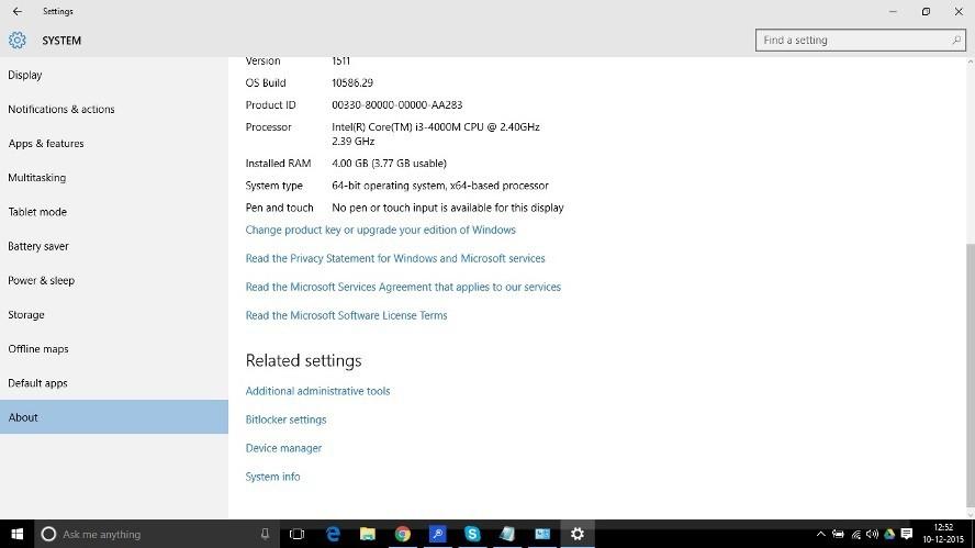 About Windows 10_techxerl