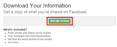 How To Recover The Deleted Facebook Messages And Photos And All Your Data 7