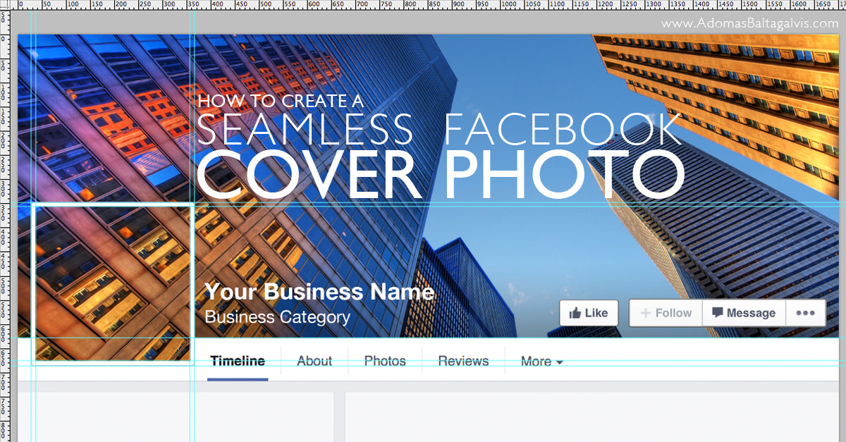 make a cool combo of facebook cover and profile picture amazing trick