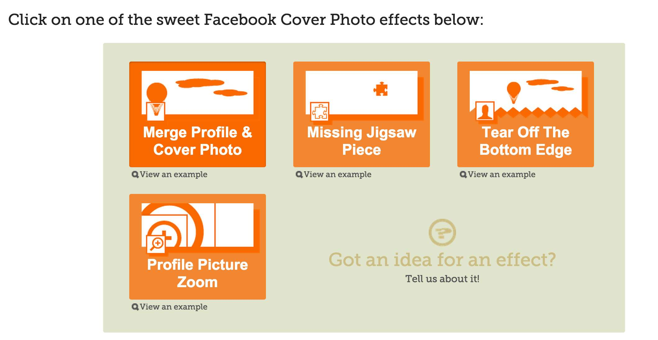 Make A Cool Combo Of Facebook Cover And Profile Picture