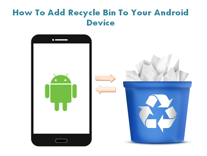 How To Add Recycle Bin Feature On Android Mobile