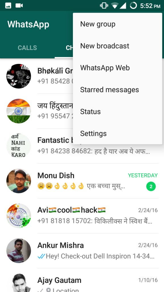 How To Convert WhatsApp Chat Conversation To TXT Format 2