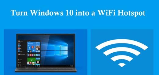 How To Turn Windows 10 PC Into WiFi Hotspot