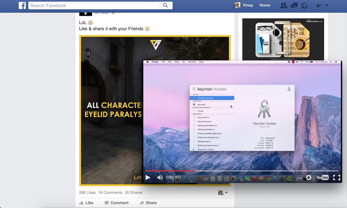 Watch YouTube Videos While Browsing In Your Chrome Browser 2