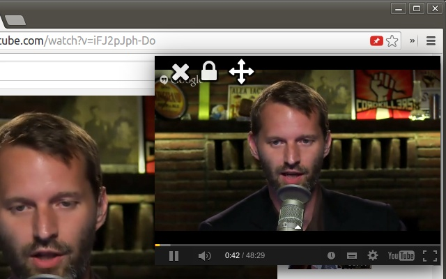 Watch YouTube Videos While Browsing In Your Chrome Browser 6