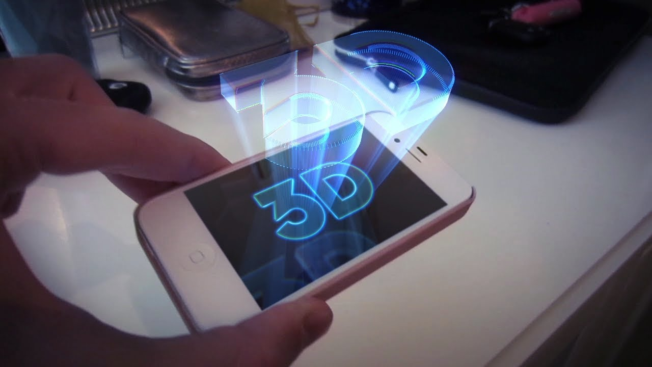 How To Make A Hologram Illusion With Your Phone 2
