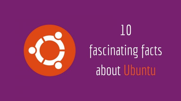 Facts about Ubuntu