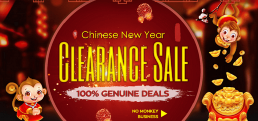GearBest New Year sale