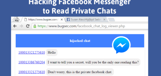Hack Facebook messenger