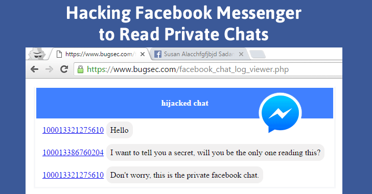 ... Bug Allows Hackers To Read Your Personal Facebook Messages Chats