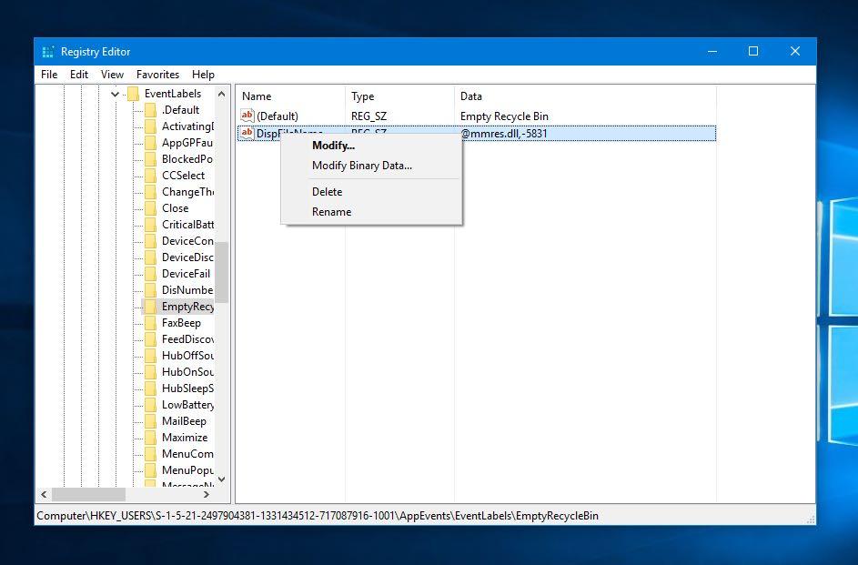 delete registry keys and values