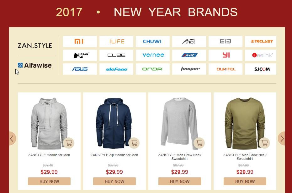 new years brands