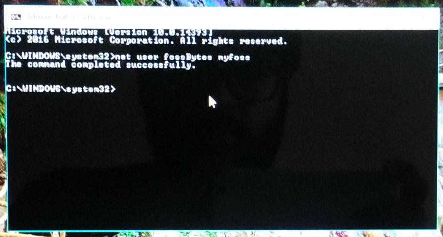 reset windows password 4