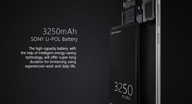Ulefone battery