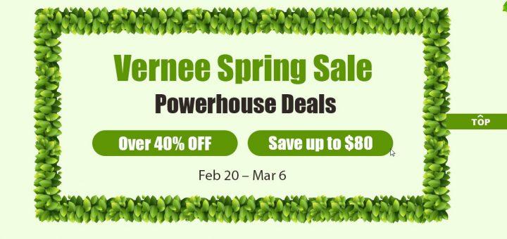 Gearbest Vernee spring sale