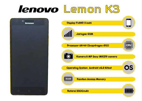 Lenovo Lemon K3
