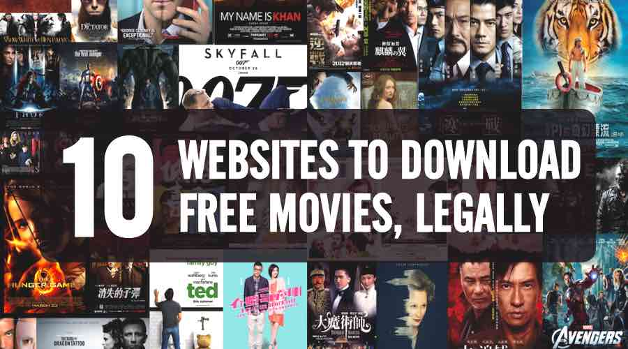Top 10 free movie downloads websites 2017 to download free full movies.